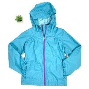 Columbia L/S Full-Zip Hooded Raincoat Jacket